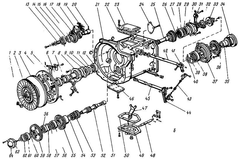 Коробка передач для МТЗ-920.4/952.4