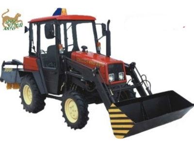 Тракторы Беларус 320-Ч.4МУП с погрузчиком и щеткой