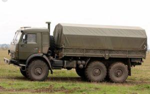 камаз 43114 военный