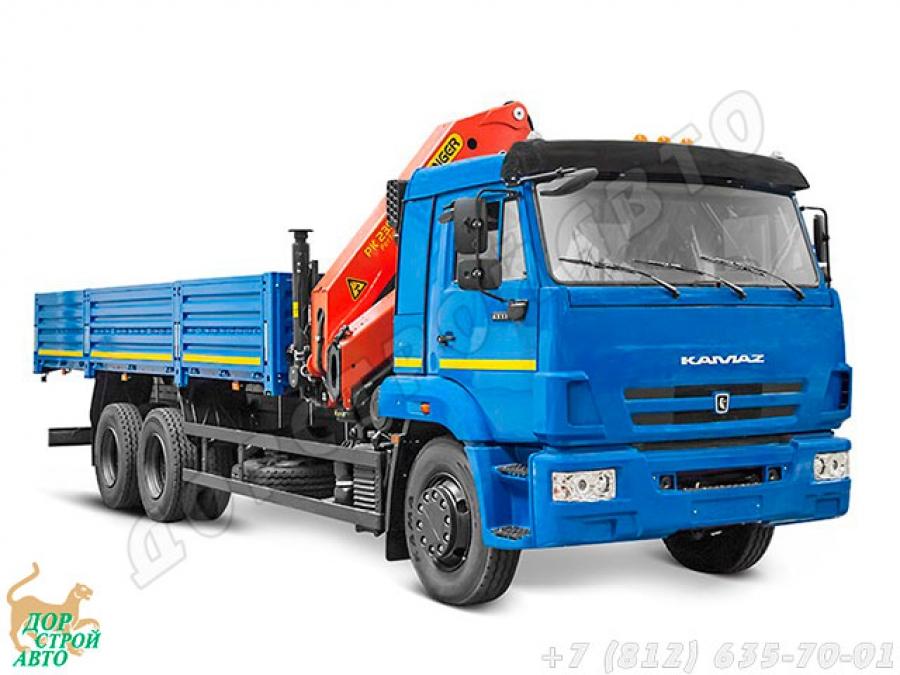 Бортовой грузовик с манипулятором Palfinger PK 23500A