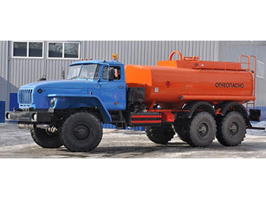 Топливозаправщик Урал АТЗ-10 на шасси Урал 4320-1912-60