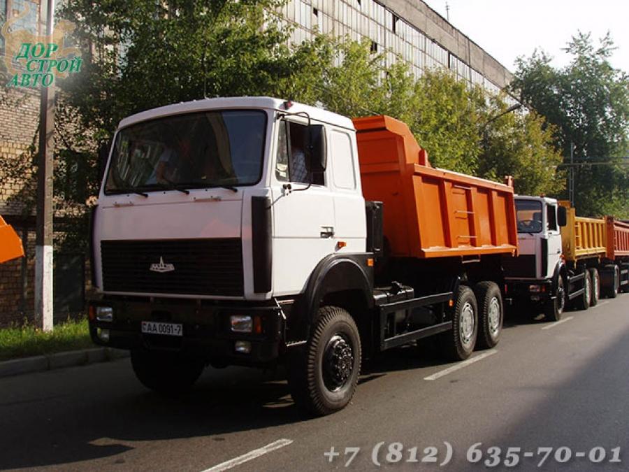 Полноприводный самосвал МАЗ-6517Х5-480-000