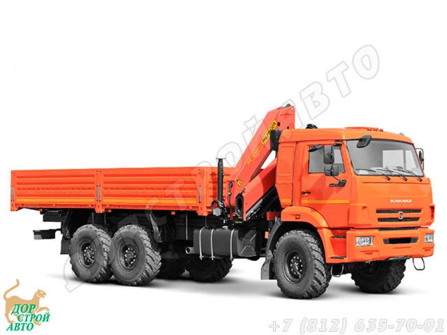 КамАЗ-43118 с КМУ Palfinger PK 15500A