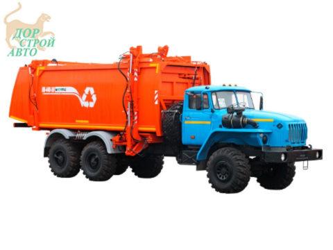 Мусоровоз Урал 4320 с боковой загрузкой КО-440-5У
