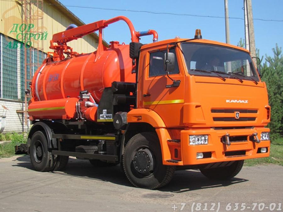 КО-530-25 на базе КамАЗ-53605