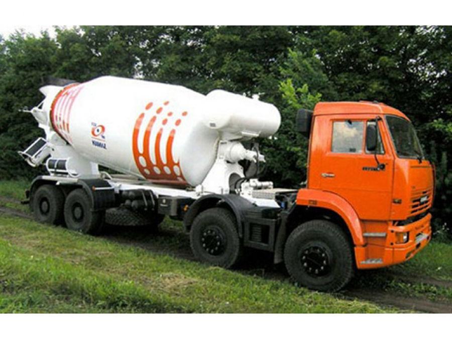 Автобетоносмеситель 58142W на шасси КАМАЗ-65201-1950-60