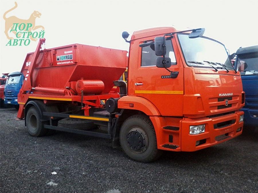 Контейнерный мусоровоз КамАЗ КО-440А1