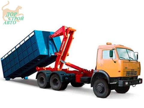 Мусоровоз с системой мультилифт КО-452-13