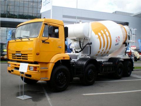 Автобетоносмеситель 58140Z на шасси КамАЗ-65201-60