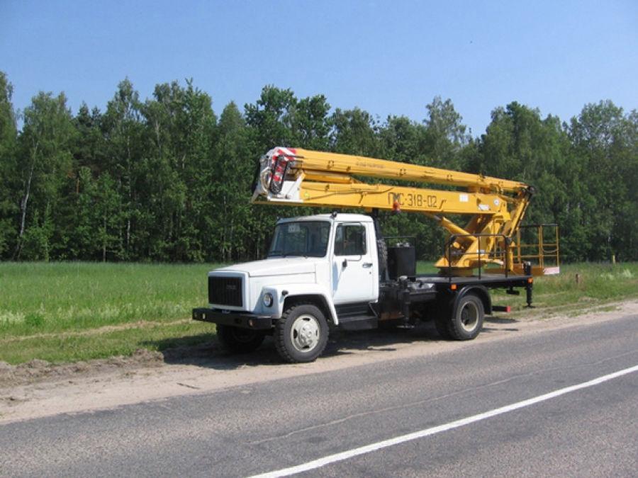 Автоподъемник коленчатый ПМС-318-02 на шасси ГАЗ-3309