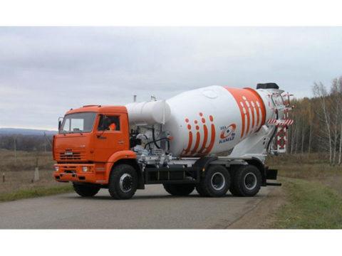 Автобетоносмеситель 58149Z на шасси КамАЗ-6520-1035-61