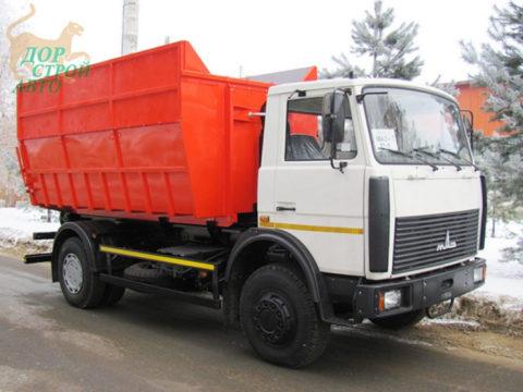 Мусоровоз контейнеровоз МАЗ КО-452