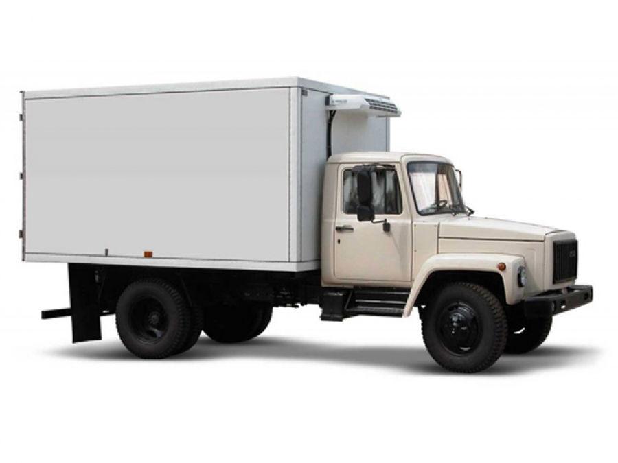 ГАЗ 3307 с изотермическим фургоном