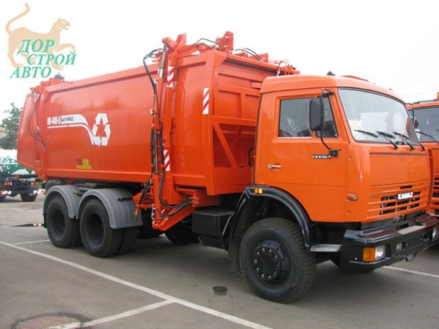 Мусоровоз КамАЗ 65115 КО-440-5