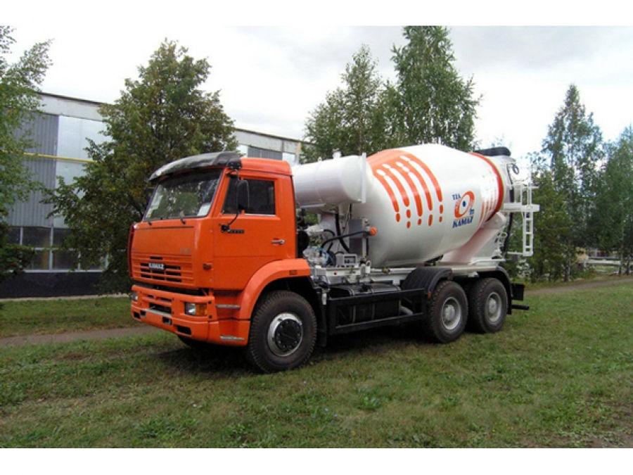 Автобетоносмесители 58148W на шасси КамАЗ-6520-1035-61