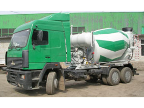 Автобетоносмеситель 8DA на шасси МАЗ 631208
