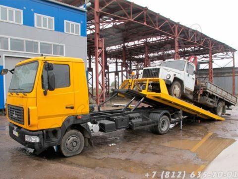 Грузовой эвакуатор МАЗ 4371