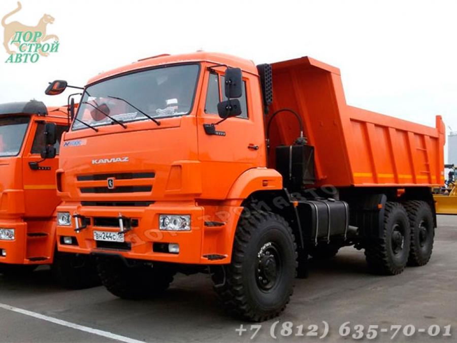 Самосвал КамАЗ 65222-6010-43