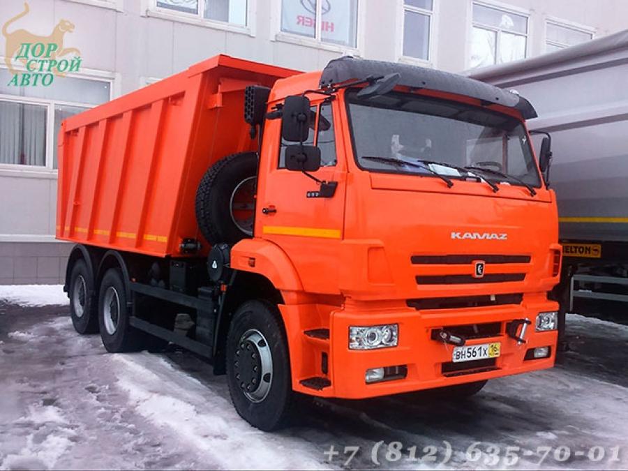 Самосвал КамАЗ 6520-6041-43