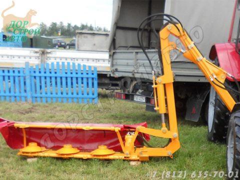 Роторная косилка-кусторез КРД-1.5 с манипулятором К-78М
