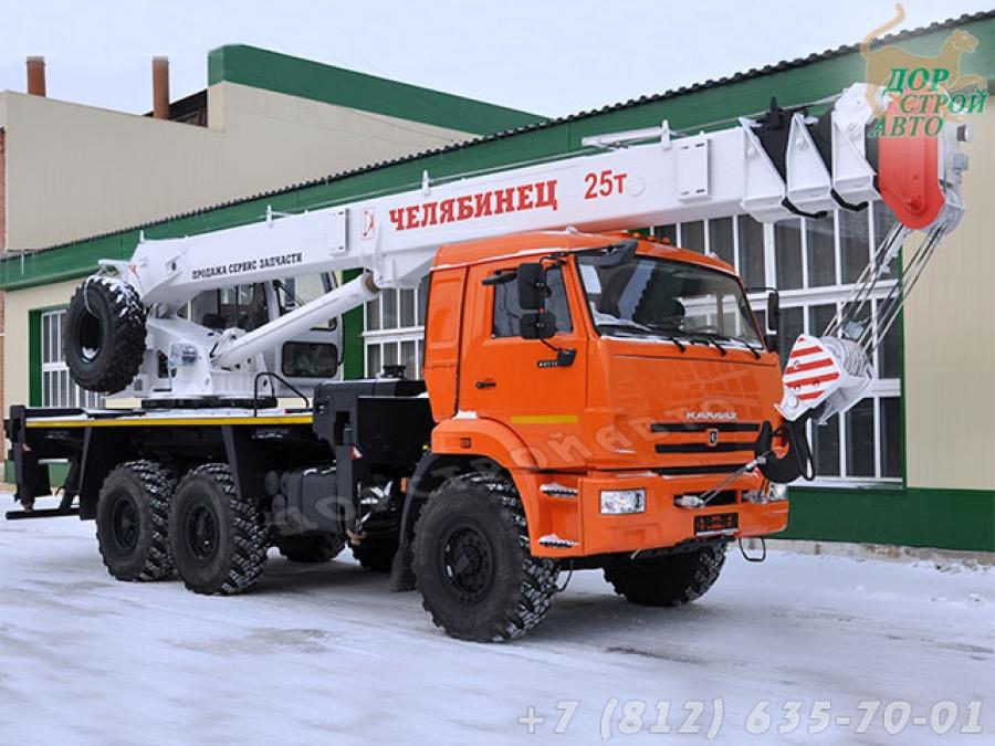 КС-55732-28 на шасси КамАЗ