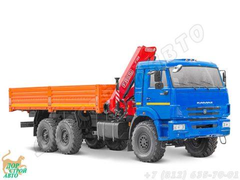 КамАЗ-43118 с КМУ Fassi F 155 A.0.22