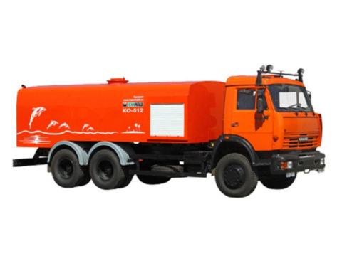 Каналопромывочная машина КО-512