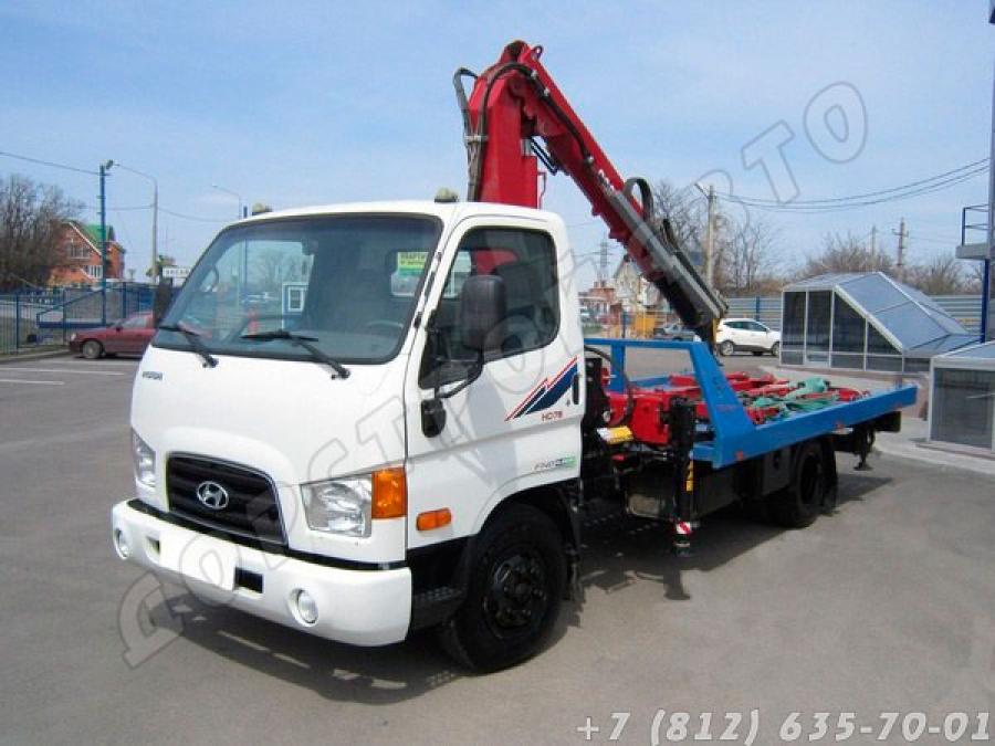 Hyundai HD-78 с КМУ