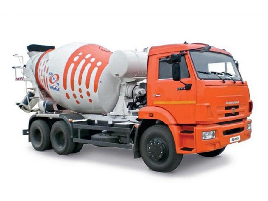 Автобетоносмеситель 58147 G на шасси КамАЗ-65115-3958-D3