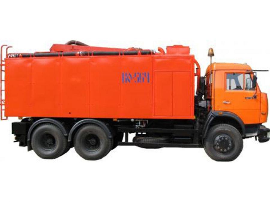 Каналопромывочная машина КО-564