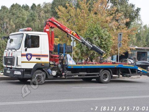 МАЗ-4371 с КМУ