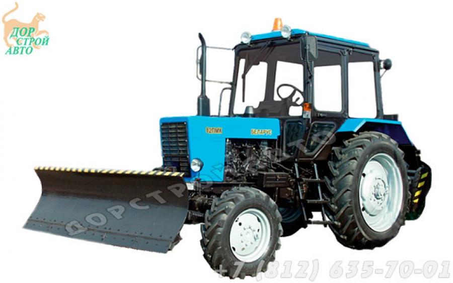 Коммунальный трактор Беларус 82МК