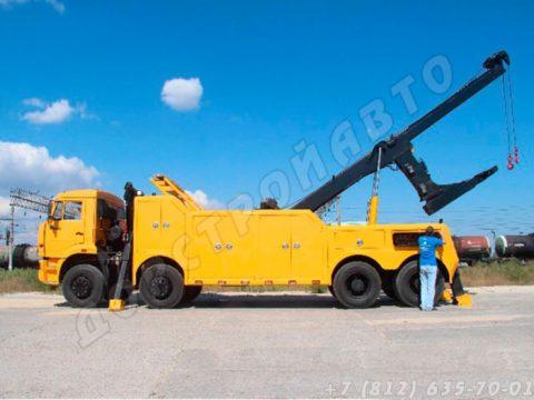 Грузовой эвакуатор КамАЗ-65201