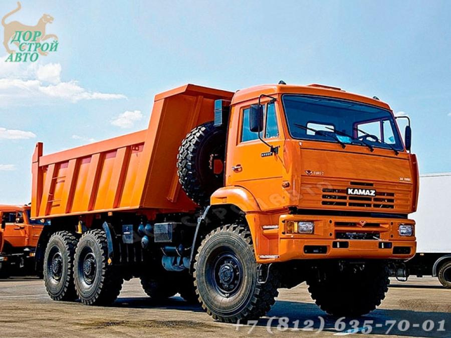 Самосвал КамАЗ 6522-6011-43