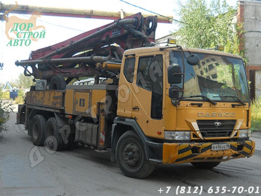 Б/у автобетононасос Daewoo 32 м