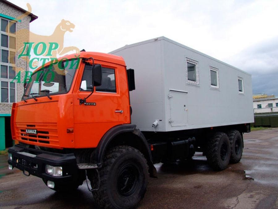 Фургон столовая КАМАЗ