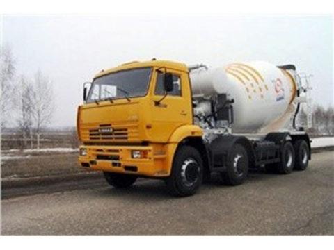 Автобетоносмеситель 58140W на шасси КамАЗ-65201-1019-60
