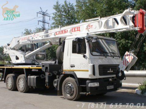 КС-55732-28 на шасси МАЗ