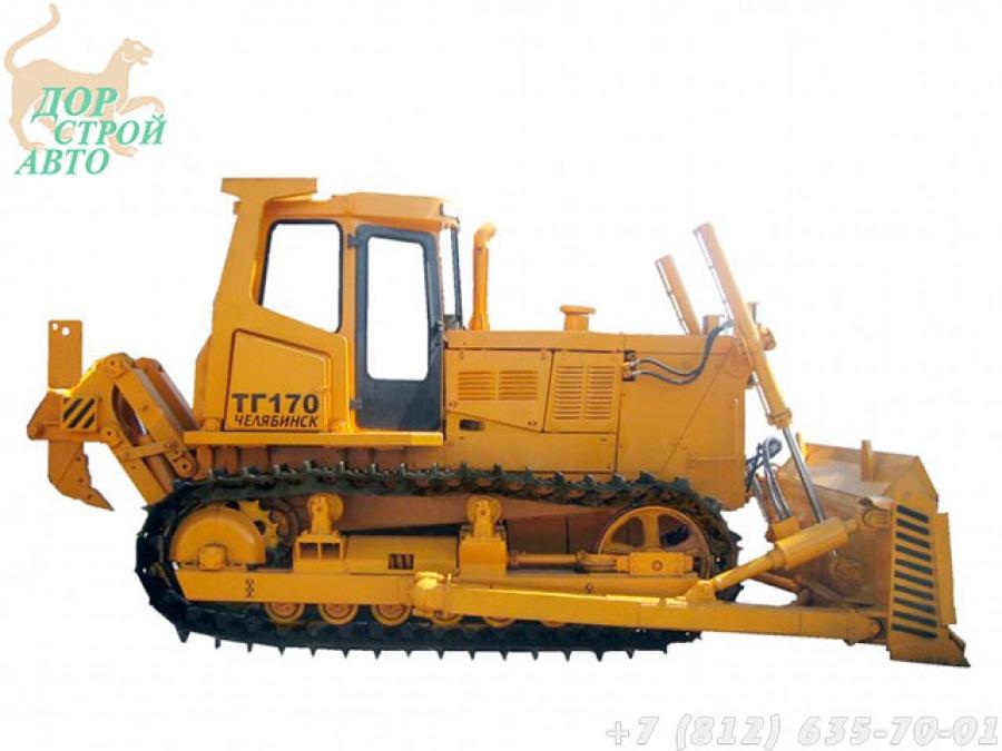 Бульдозерно-рыхлительный агрегат ТГ-170 (ТГ-170.01-ЕН)