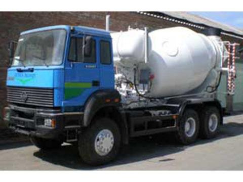 Автобетоносмеситель 9DA на шасси Урал 63685