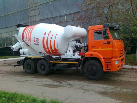 Автобетоносмеситель 58149W на рест. шасси КамАЗ-6520-000-3910-61
