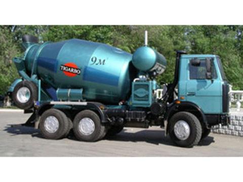Автобетоносмеситель 9DA на шасси МАЗ 5516А5