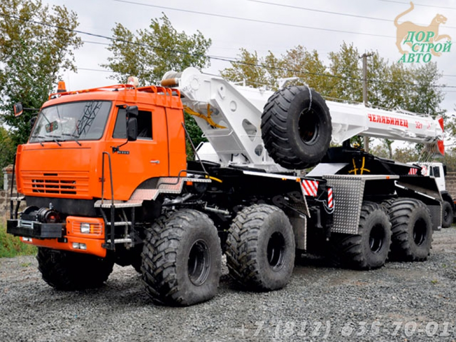 Автокран-вездеход КС-55733Б