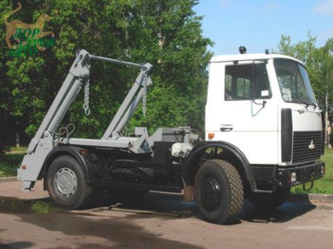 Портальный мусоровоз МАЗ КО-450-10