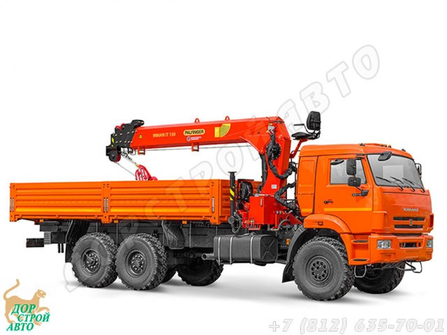 КМУ Inman IT-150 на шасси КамАЗ-43118