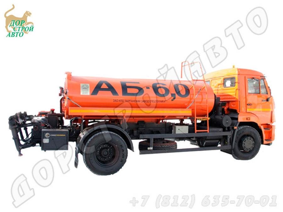 Автогудронатор КамАЗ-43253