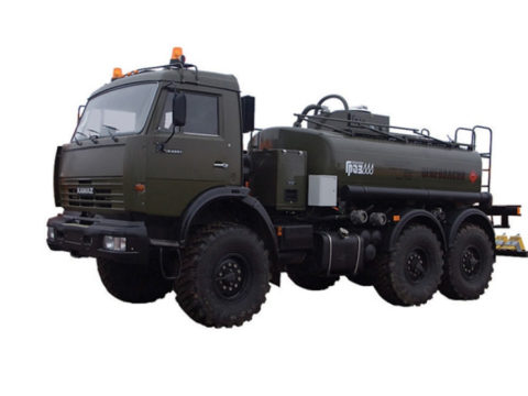 Топливозаправщик ГРАЗ АТЗ 56152-010-30