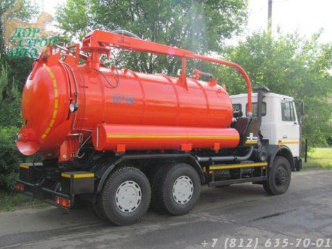 КО-530-05 на базе МАЗ-6312В3