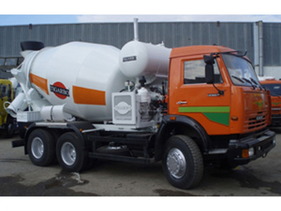 Автобетоносмеситель 6DA на шасси КАМАЗ-65115-62