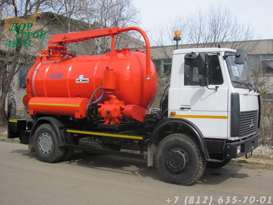 Илососная машина КО-530-21